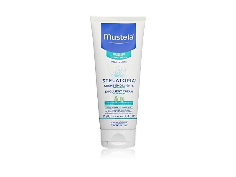 Mustela Stelatopia Emollient Cream, Fragrance Free, 6.76 Fl. Oz.