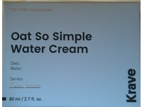 Krave Oat So Simple Water Cream, 2.7 fl oz/80 mL - Image 3