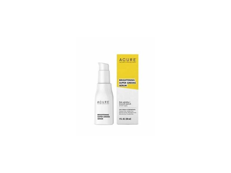 Acure Brightening Super Greens Serum, 1 Ounce