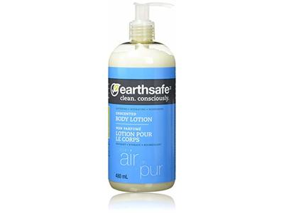 Earthsafe Unscented Body Lotion, 480 mL