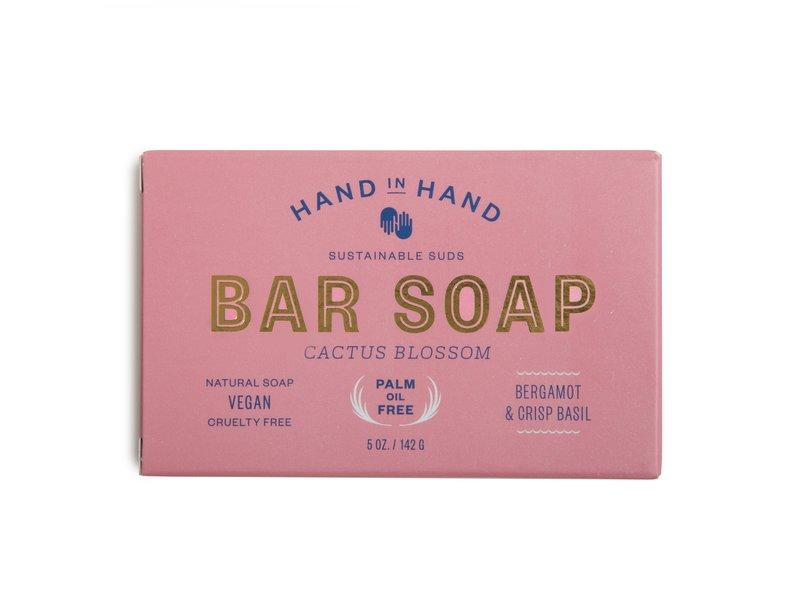 Hand in Hand Bar Soap Cactus Blossom, 5 oz