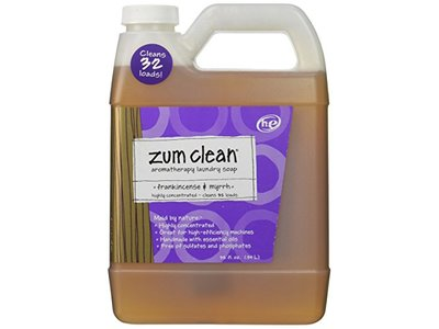 Indigo Wild Zum Clean Laundry Soap, Frankincense and Myrrh, 32 Fluid Ounce