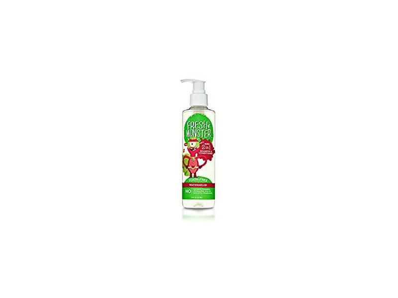 Fresh Monster 2-in-1 Kids Shampoo & Conditioner, Watermelon, 8 oz