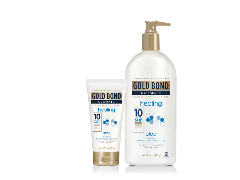 Gold Bond Ultimate Skin Therapy Lotion, Healing Aloe, 16.8 fl oz
