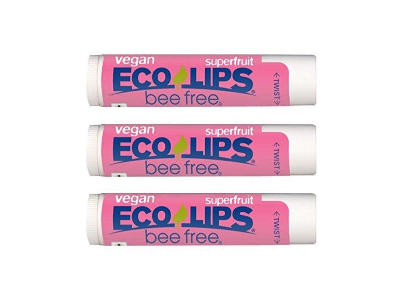 Eco Lips Bee Free Vegan Superfruit Eco Lips, 0.15 oz