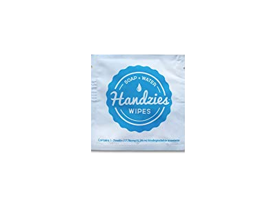 Handzies Soap and Water Wipes, 1 ct