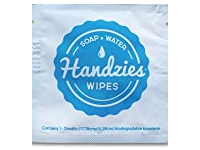 Handzies Soap and Water Wipes, 1 ct - Image 2