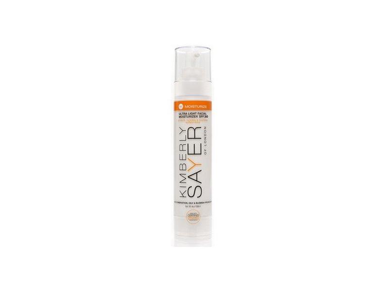Kimberly Sayer Ultra Light Facial Moisturizer SPF 30, 4 Oz