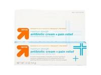 Up & Up Antibiotic Cream + Pain Relief, .5 oz - Image 2