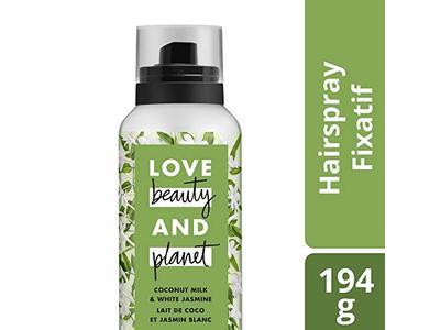 Love Beauty and Planet Hair Spray, Coconut Milk & White Jasmine, 6.8 oz - Image 9
