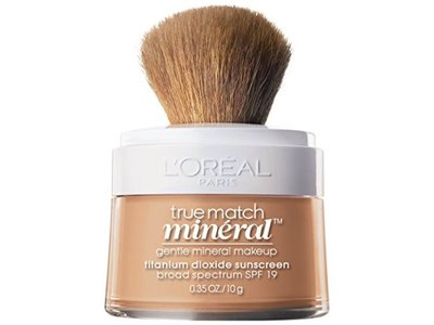 L'Oreal Paris True Match Naturale Gentle Mineral Makeup, Natural Buff 457, 0.35 oz