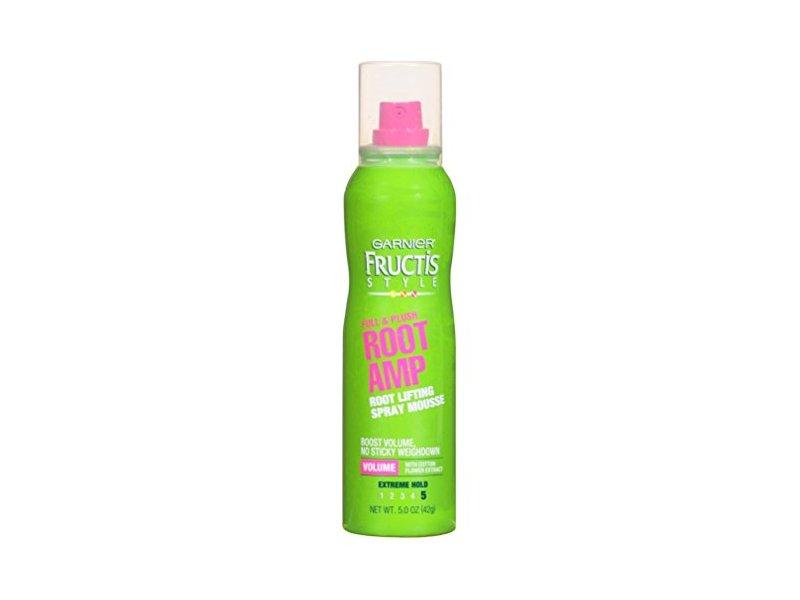 Garnier Fructis Full & Plush Root Amp Spray Mousse, 5oz