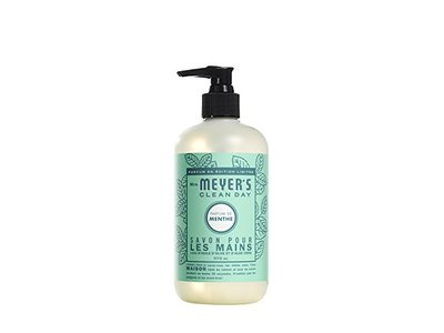 Mrs. Meyer's Clean Day Mint Hand Soap, 12.5 Fluid Ounce - Image 3