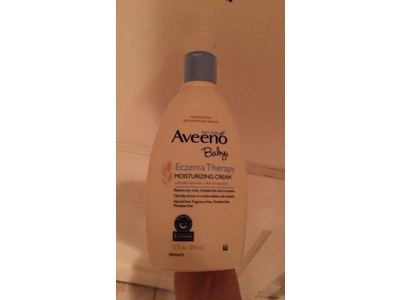 Aveeno Baby Eczema Therapy Moisturizing Cream, 12 Ounce - Image 3