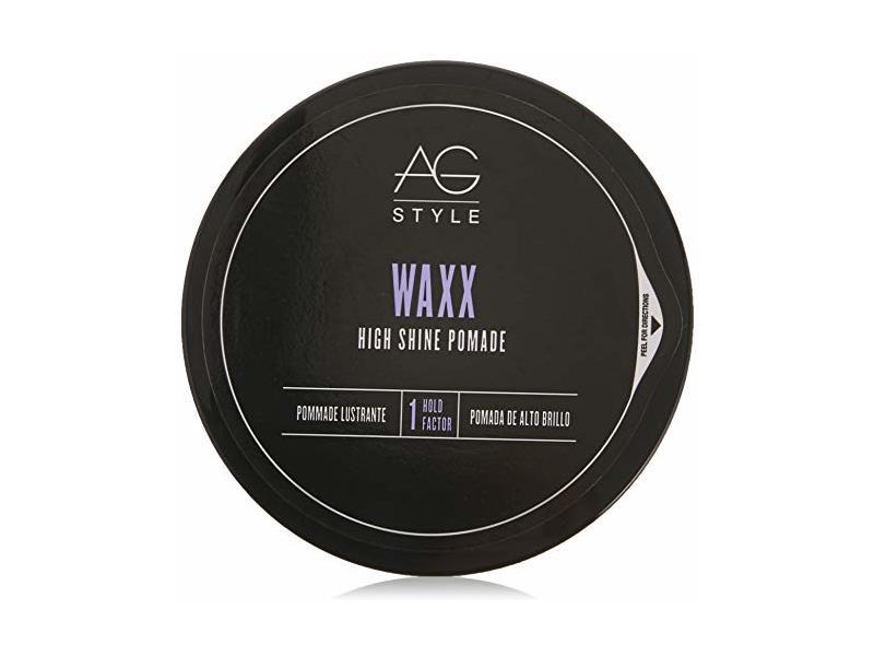 AG Style Waxx High Shine Pomade, 2.5 Fl Oz