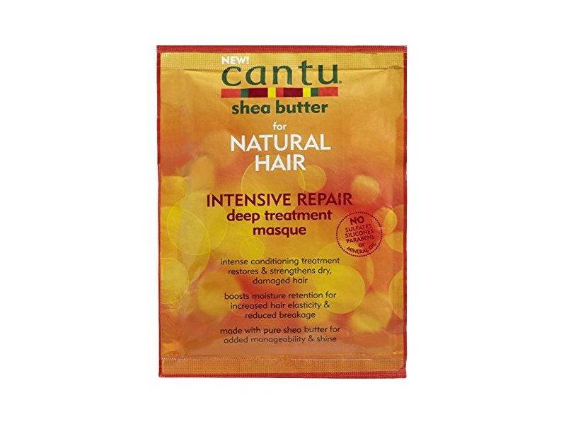 Cantu Deep Treatment Hair Masque, Shea Butter For Natural Hair, 1.75 oz/50 g, Pack Of 6