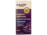 Equate Support Harmony Lubricant Eye Drops, 0.33oz, - Image 2