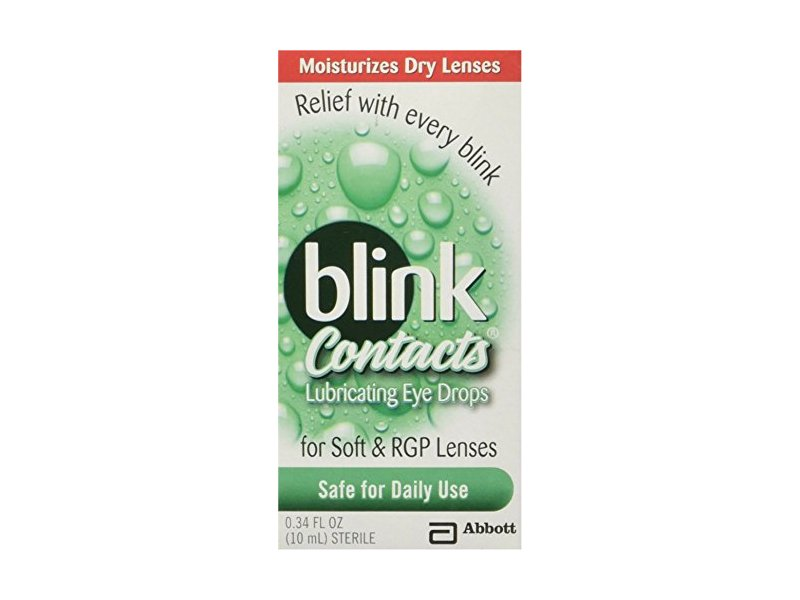 blink Contacts Lubricating Eye Drops 10 mL (Pack of 7)