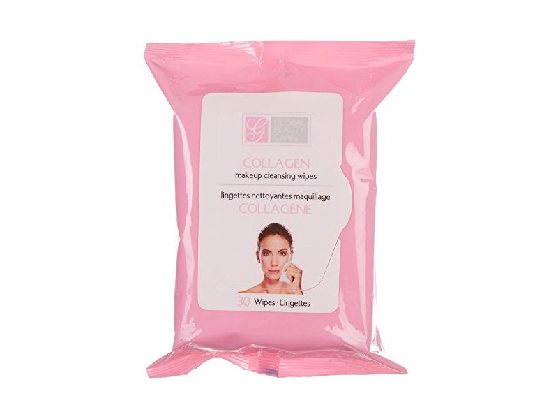 Global Beauty Care Collagen Makeup Cleansing Wipes, 30-ct. Packs (2 packs)