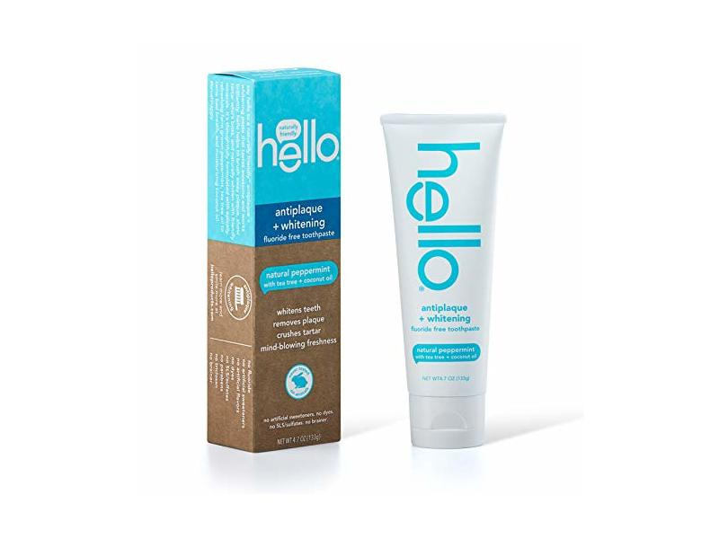 Hello Oral Care Toothpaste, Natural Peppermint, 4.0 oz