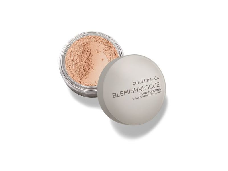 bareMinerals Blemish Rescue Skin Clearing Powder Foundation, 0.21 oz