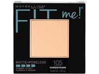 Maybelline Fit Me! Matte + Poreless Foundation Powder, 105 Fair Ivory - Image 2