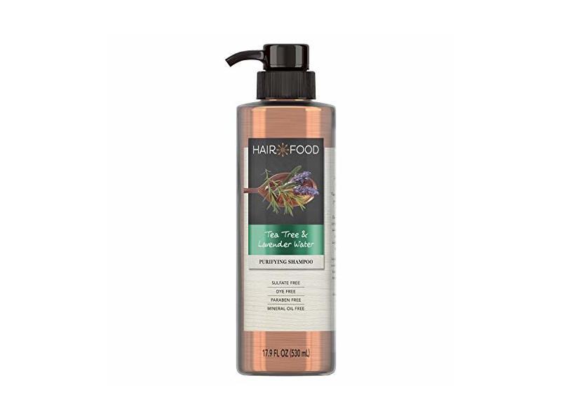 Hair Food Purifying Shampoo, Tea Tree & Lavender Water, 17.9 fl oz
