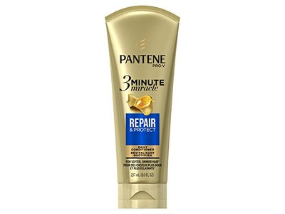Pantene Repair & Protect 3 Minute Miracle Daily Conditioner, 8.0 fl oz
