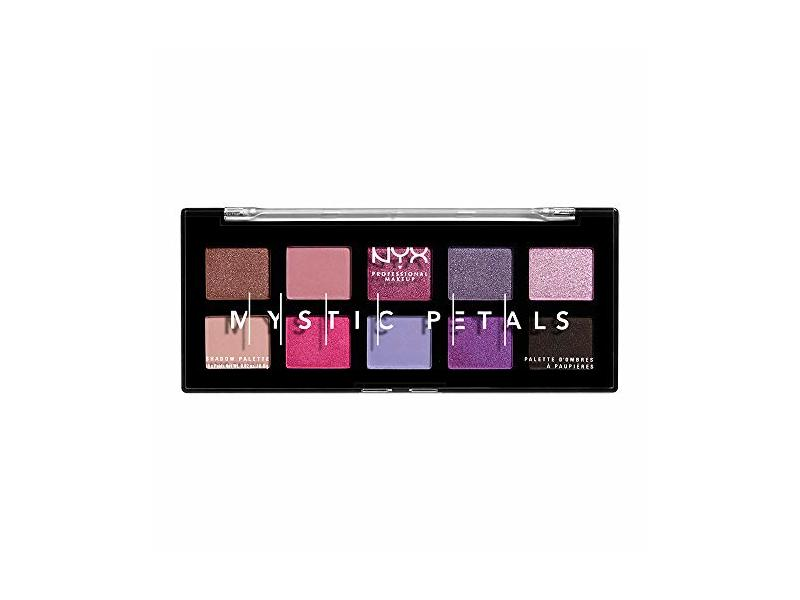 NYX PROFESSIONAL MAKEUP Mystic Petals Eye Shadow Palette, Midnight Orchid