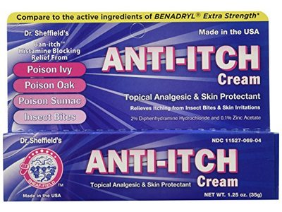 Dr. Sheffield Anti-Itch Cream with Histamine Blocker, 1.25 oz - Image 3