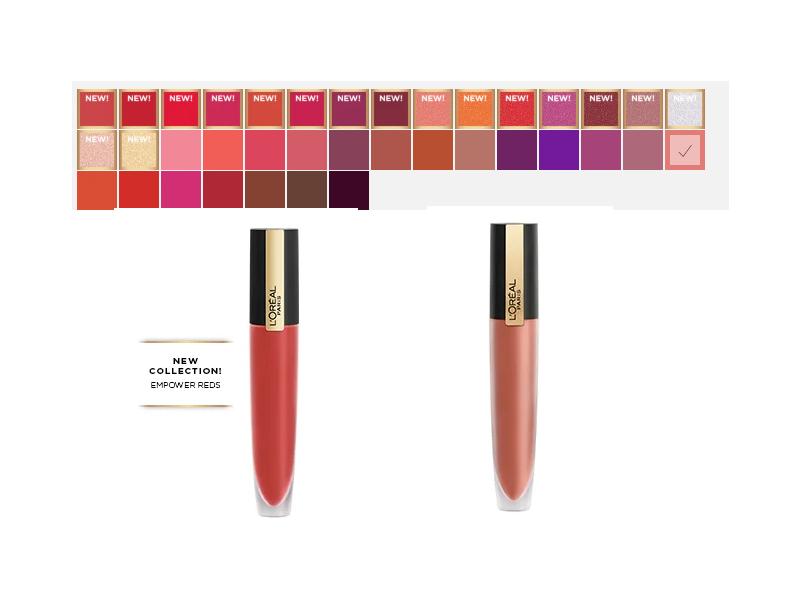 L'Oreal Rouge Signature Matte Lip Stain, All Colors, 0.23 oz