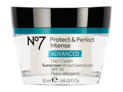 No7 Protect & Perfect Intense Anti-ageing Day Cream, SPF 30, 1.69 fl oz
