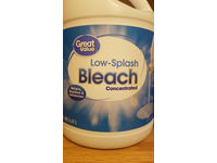 Great Value Low-Splash Concentrated Bleach, 121 fl oz - Image 3
