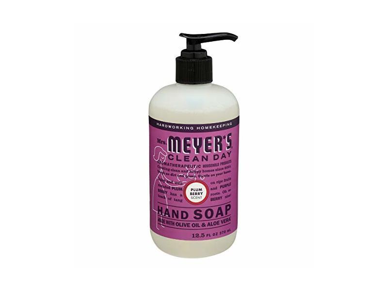 Mrs Meyer's, Hand Soap Liq Plumberry, 12.5 Ounce