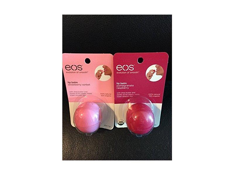 eos Organic Pomegranate Raspberry Lip Balm, .25 oz Bulldog Natural Skincare Face Scrub - Original - 4.2 Fl Oz