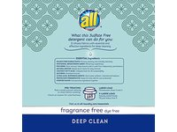 All Fresh Clean Essentials Laundry Detergent, Fragrance Free, 30 Ounce (23 loads) - Image 3