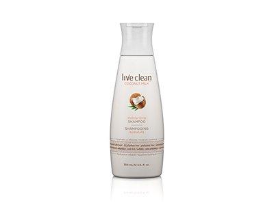 Live Clean Coconut Milk Moisturizing Shampoo, 12 fl oz