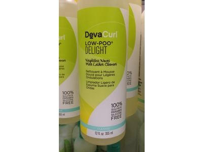 DevaCurl Low-Poo Delight Mild Lather Cleanser, 12 oz - Image 3