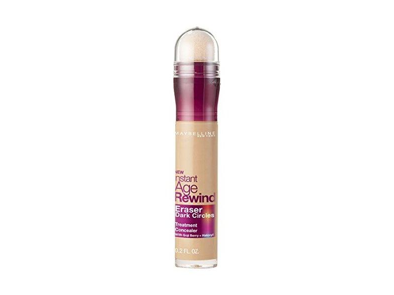 Maybelline New York Instant Age Rewind Eraser Dark Circles Treatment Concealer Makeup, Sand, 0.2 fl. oz.