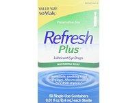 Refresh Plus Lubricant Eye Drops, 0.01 fl oz (0.4 mL) - Image 2