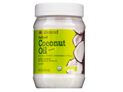 Gold Emblem Abound Organic Coconut Oil Refined, 14 oz