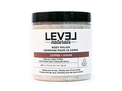 Level Naturals - Body Polish Coffee + Sugar - 8 oz.