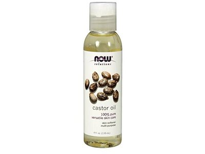 Now Solutions Castor Oil, 4 fl oz (Pack of 2)
