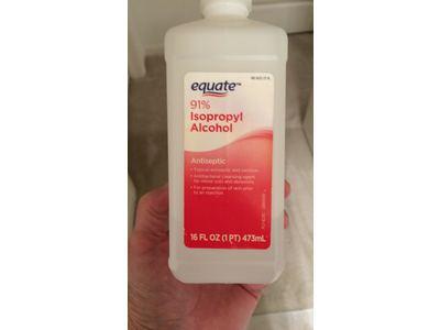 Equate 91% Isopropyl Alcohol, 16 fl oz - Image 3