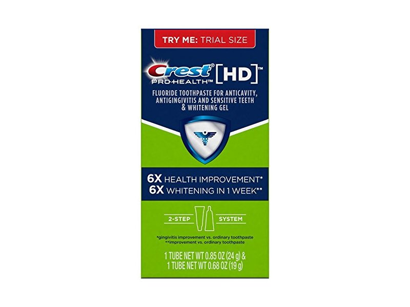 Crest Pro Health Hd Daily Two Step Toothpaste System 85 Oz Loading Zoom