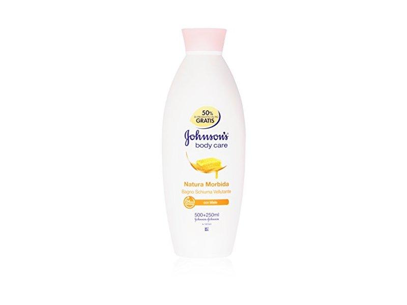 Johnson & Johnson Natura Morbid Velvety Shower Gel with Honey 25.36 Fluid Ounces (750ml)