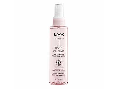NYX Professional Makeup Bare With Me Prime. Set. Refresh. Multitasking Spray, 6.39 fl oz