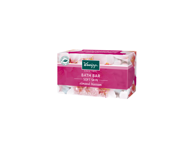 Kneipp Almond Blossom Bath Bar, 4.76 oz
