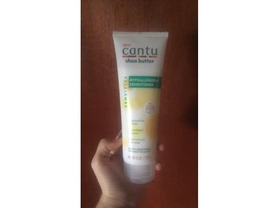 Cantu Shea Butter Hypoallergenic Conditioner, Fragrance Free, 8 oz - Image 3