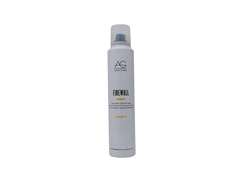 AG Hair Firewall Argan Flat Iron Hair Spray, 5 Ounce